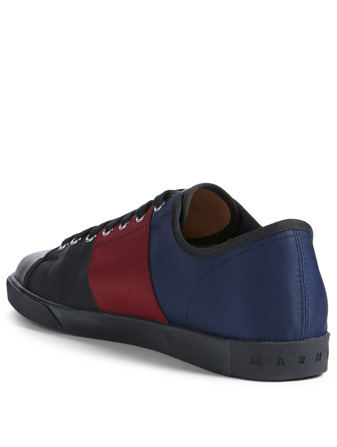 MARNI Tech Jersey Sneakers Men's Black