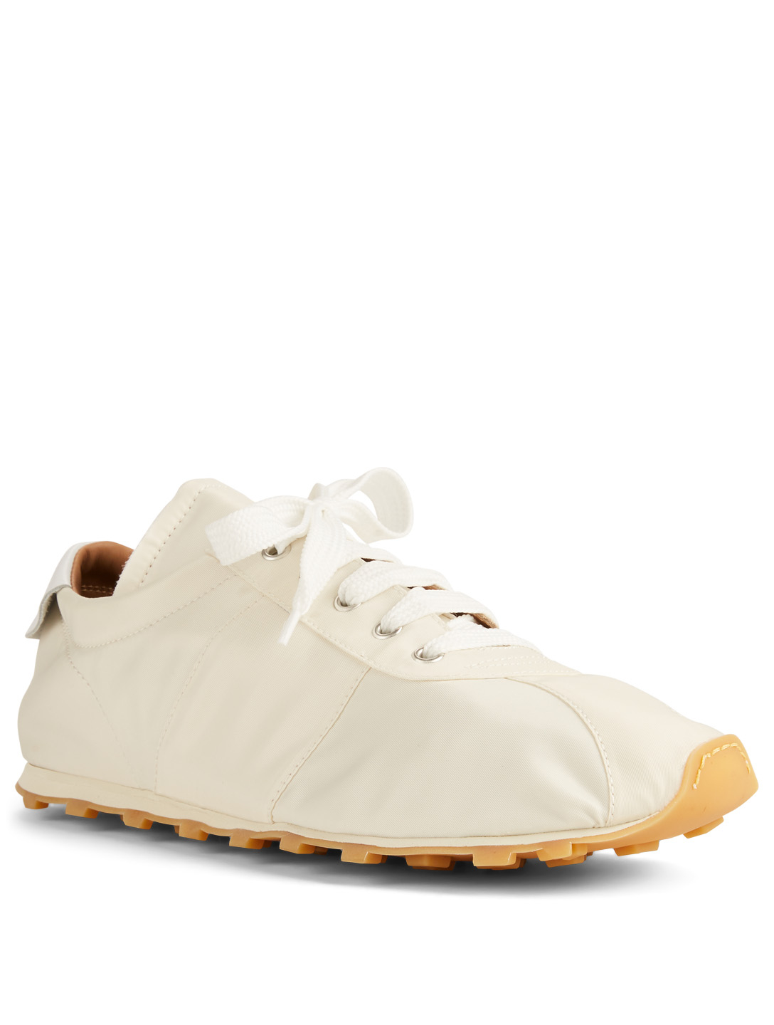 MARNI Tech Jersey Sneakers Men's White