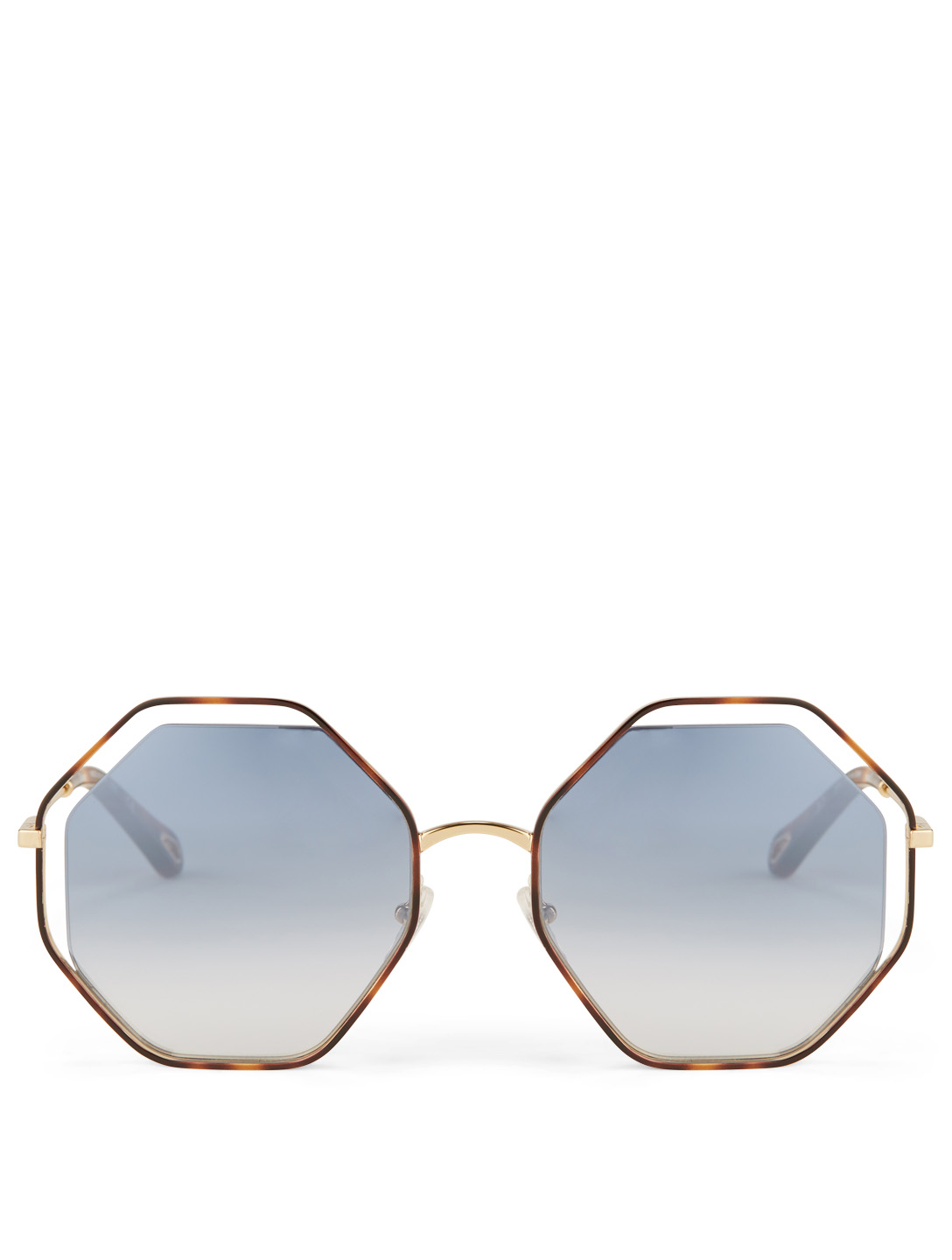 bf02f089b70 CHLOÉ Poppy Geometric Sunglasses Women s Blue ...