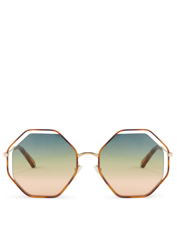 0e2531b44ef CHLOÉ Poppy Geometric Sunglasses