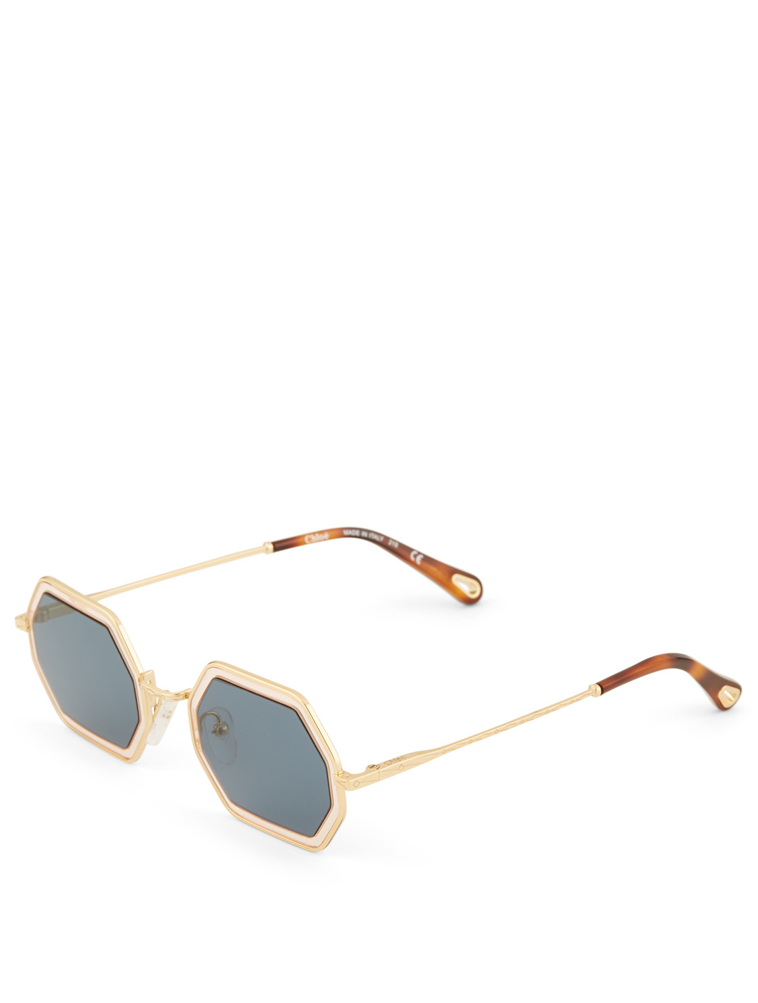 9cc44fee3 ... CHLOÉ Tally Small Geometric Sunglasses Women's Blue