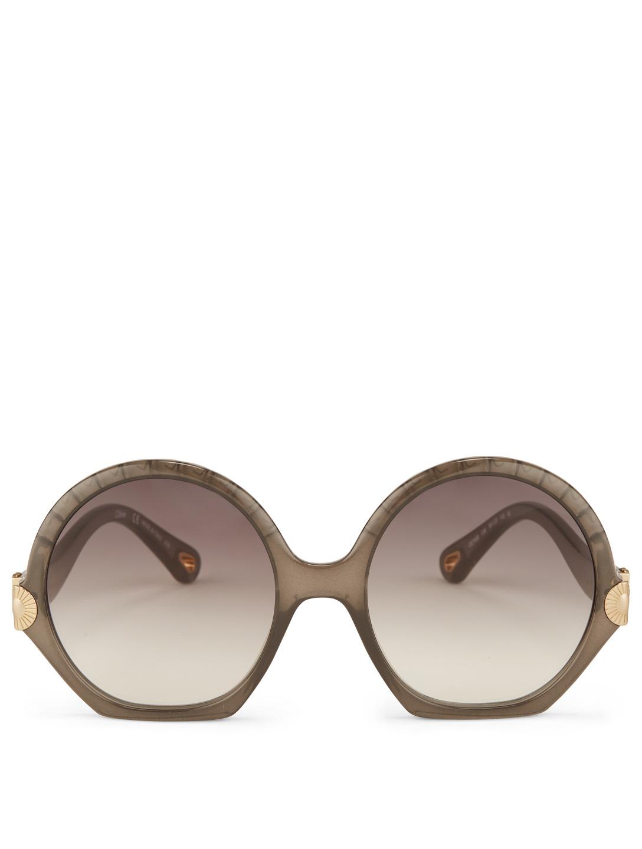 60ceaed19 CHLOÉ Vera Seashell Sunglasses | Holt Renfrew