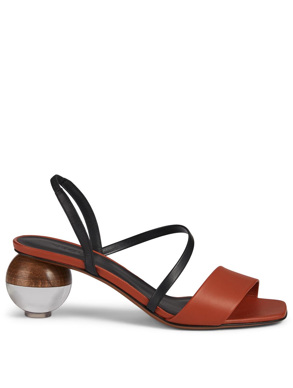 ec90302a5660 NEOUS Latouria Leather Heeled Sandals