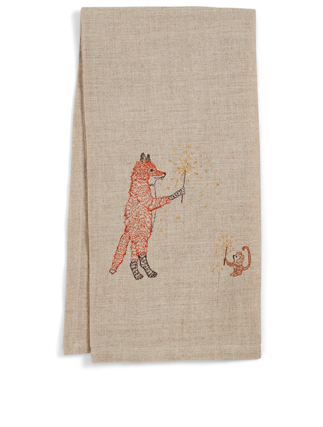 CORAL & TUSK Sparklers Linen Tea Towel H Project