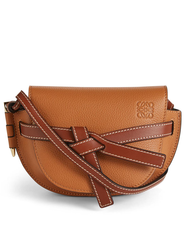 4967ccbb0 LOEWE Mini Gate Leather Crossbody Bag Women's Neutral ...