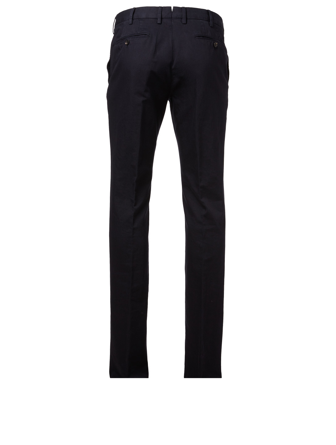 ERMENEGILDO ZEGNA Cotton And Linen Pants Men's Blue