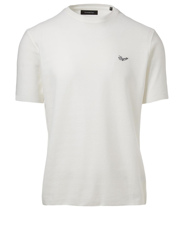 d00a922bbb ERMENEGILDO ZEGNA Crewneck T-Shirt | Holt Renfrew