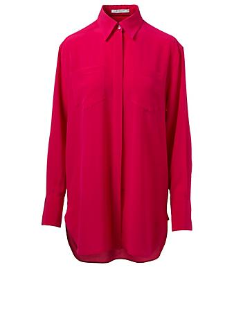 bbacbcda295aff GIVENCHY. Silk Shirt