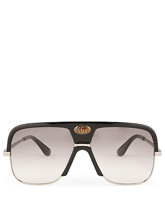 GUCCI Aviator Sunglasses Designers Black