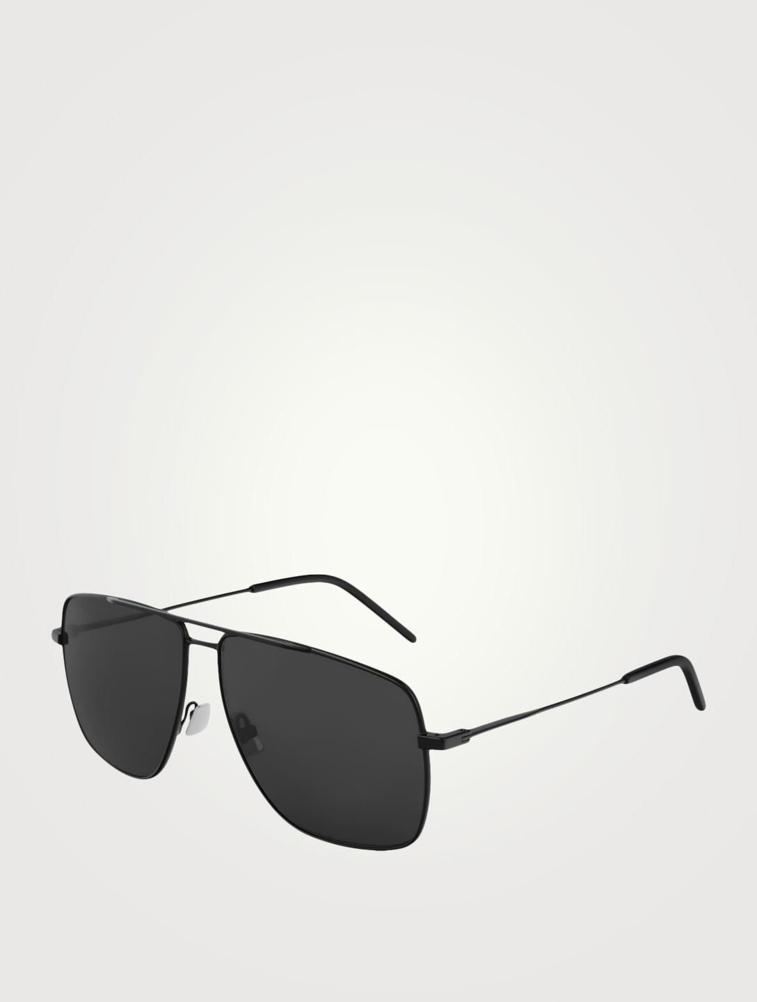 SAINT LAURENT SL 298 Aviator Sunglasses Men's Black