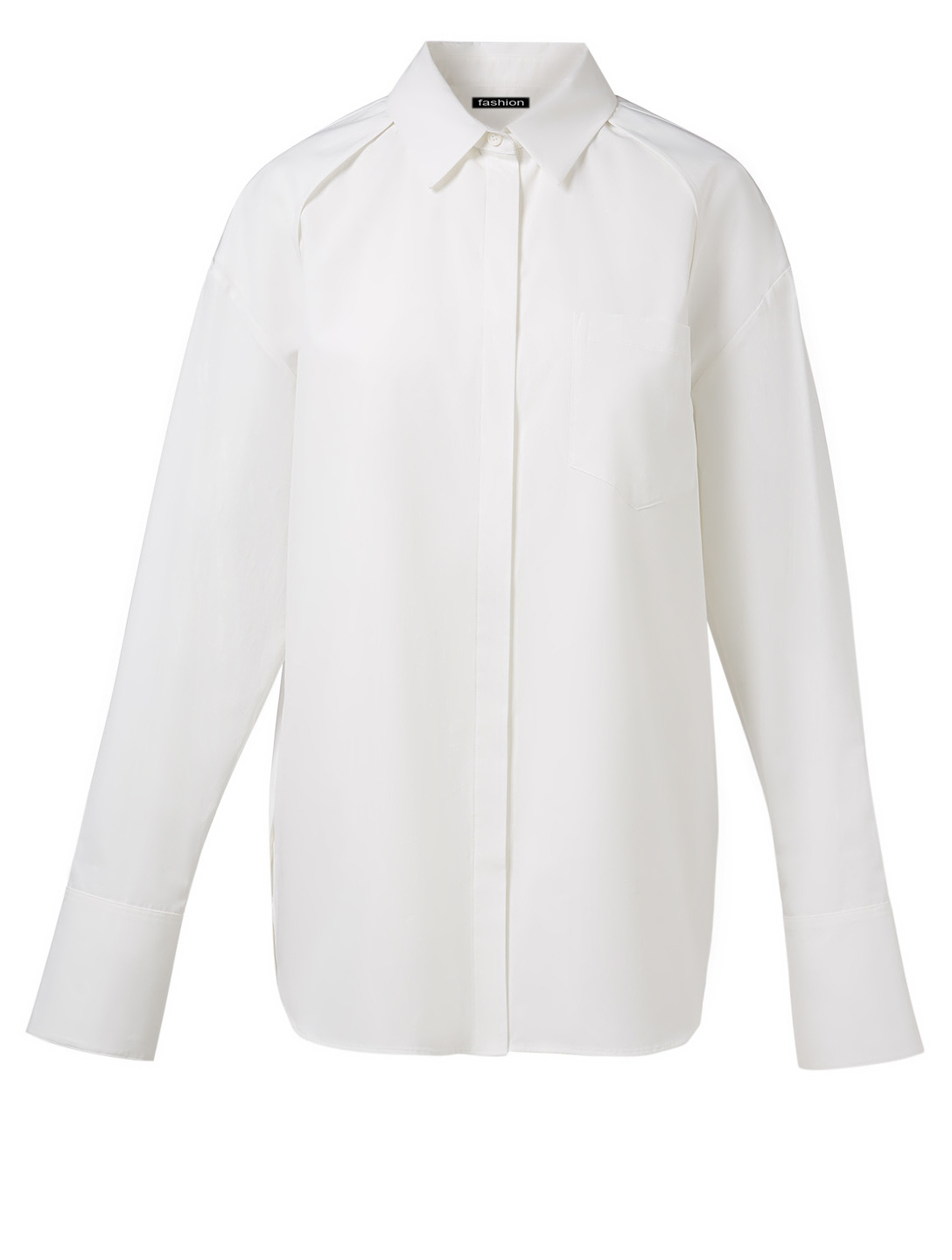 JUUN J Convertible Button-Up Shirt Women's White