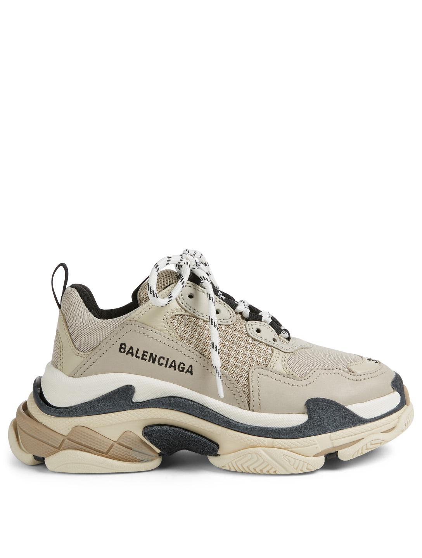 210669bf02b1 BALENCIAGA Triple S Sneakers Womens Neutral ...