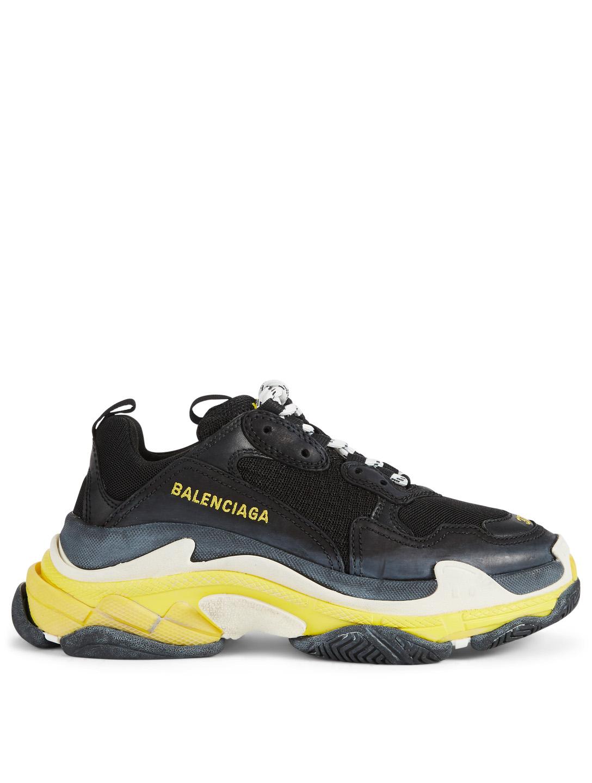 837e7b366052 BALENCIAGA Triple S Sneakers Women s Black ...