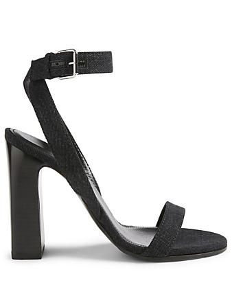 789fd116d2ca BALENCIAGA. Denim Heeled Sandals