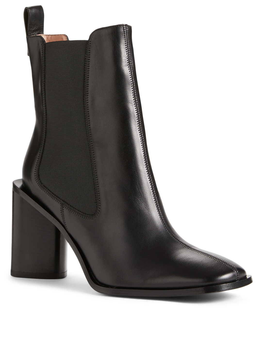 ACNE STUDIOS Bethany Leather Ankle Boots Womens Black