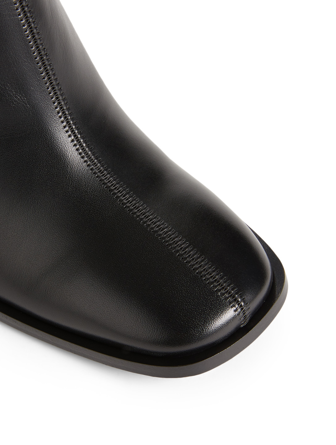 ACNE STUDIOS Bethany Leather Ankle Boots Women's Black
