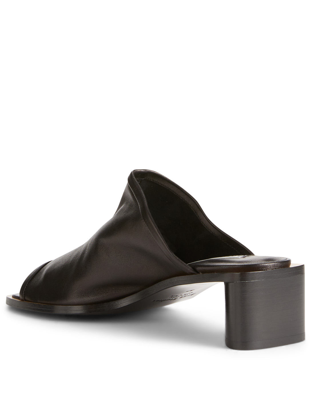 ACNE STUDIOS Bernelle Leather Mule Sandals Womens Black