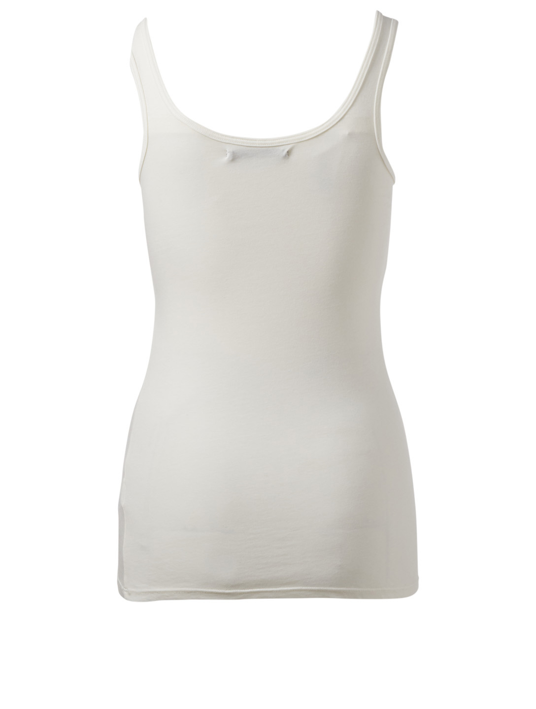 OBAKKI Essential Heathered Tank Top H Project White