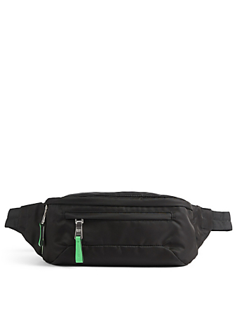 PRADA Nylon Belt Bag Designers Black