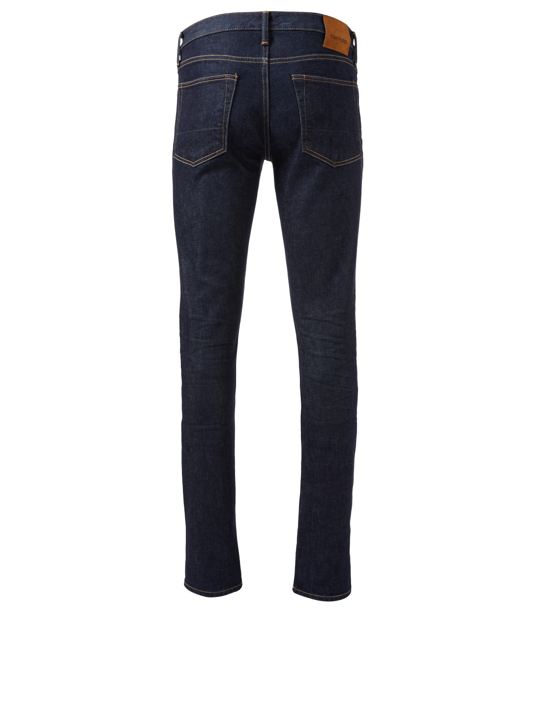 TOM FORD Overdye Slim-Fit Jeans Men's Blue