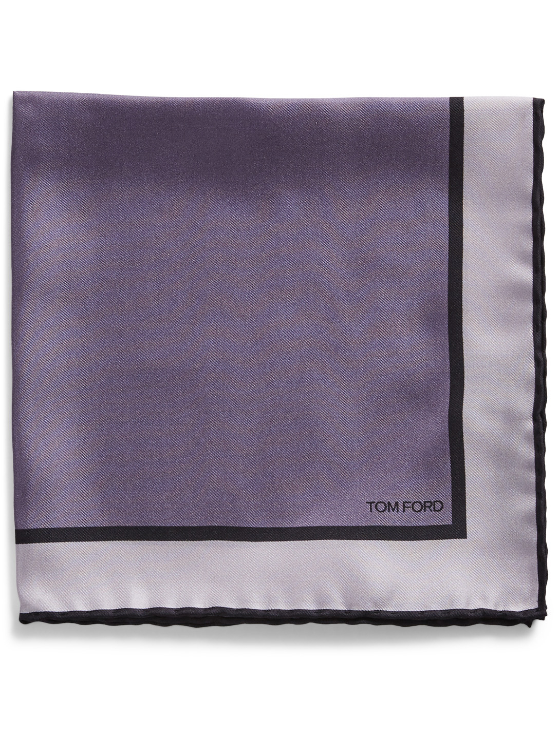 TOM FORD Silk Pocket Square Men's Purple