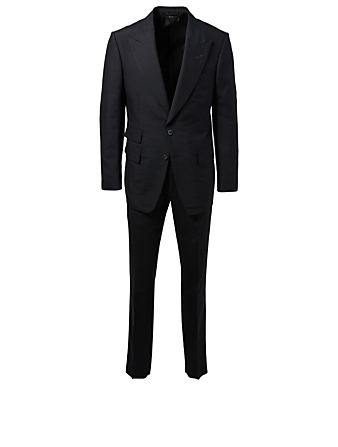 TOM FORD Shelton Silk Two-Piece Suit Men's Black