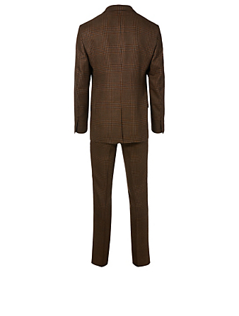 TOM FORD Shelton Two-Piece Suit In Check Men's Brown