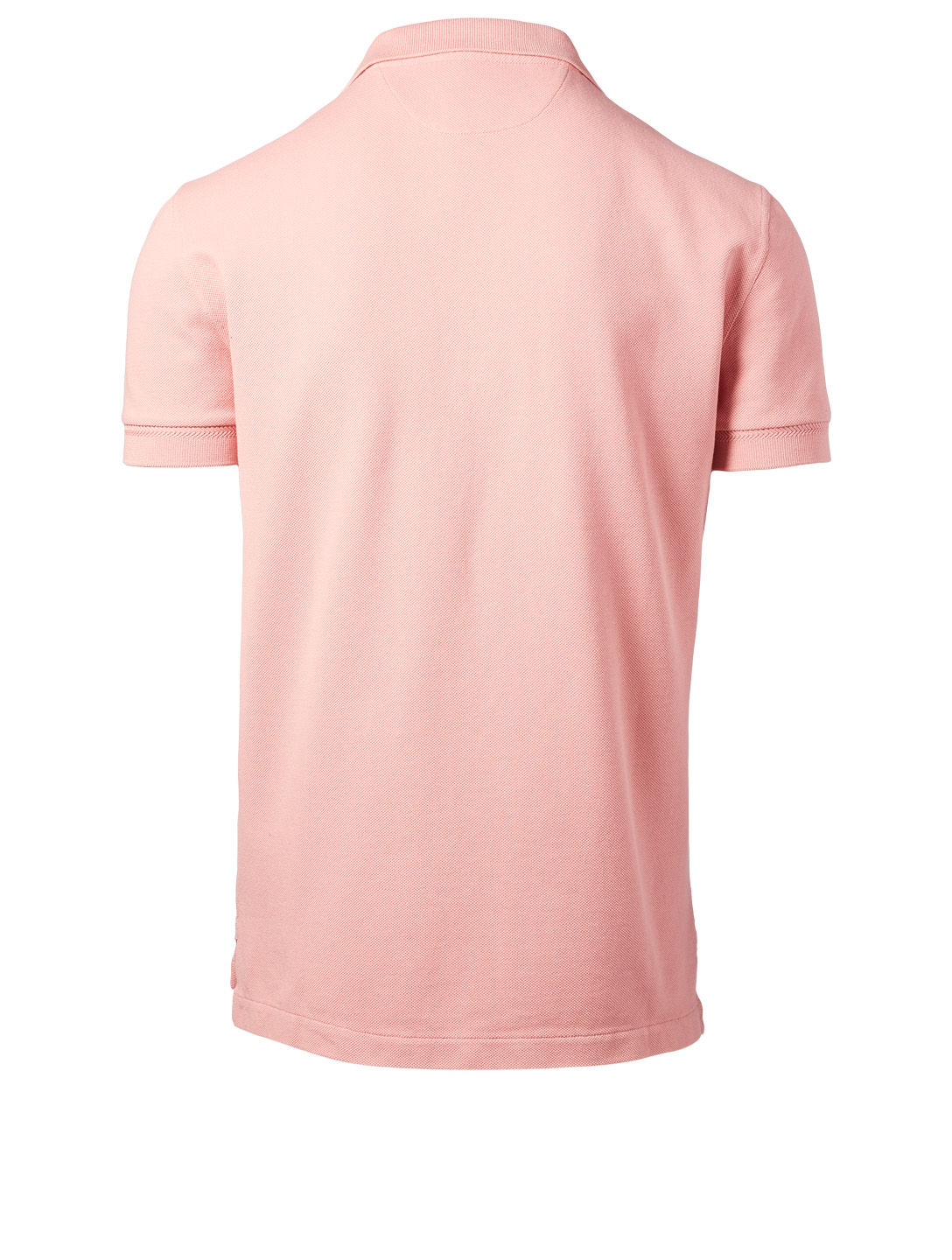 TOM FORD Solid Polo Shirt Men's Pink