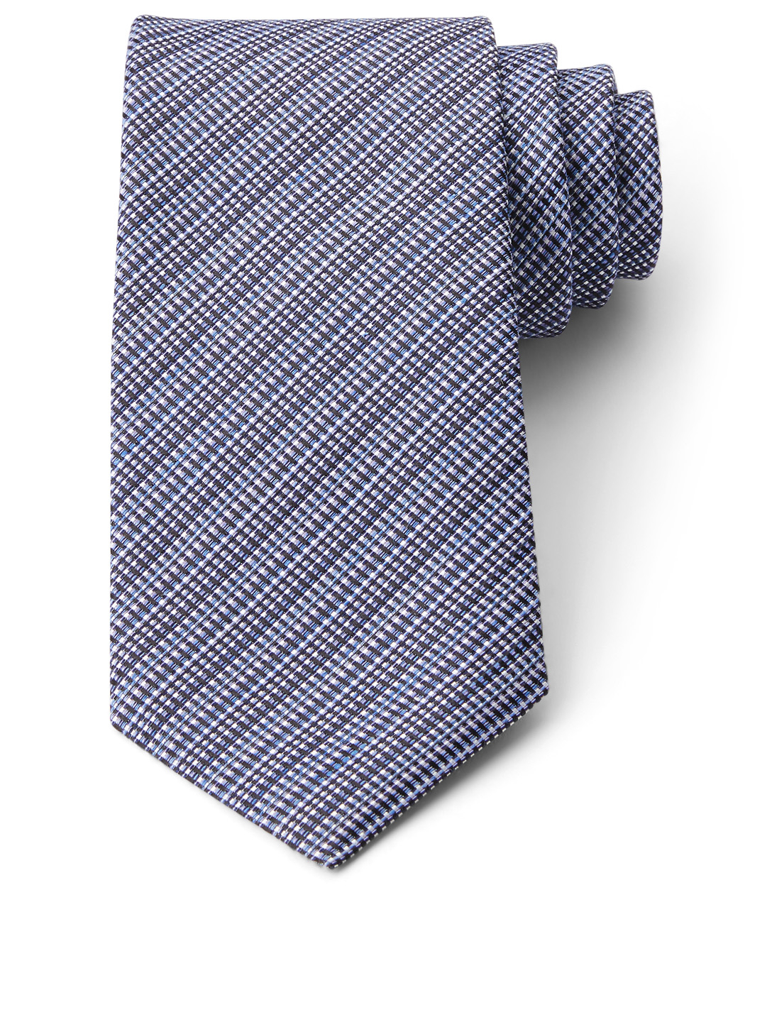 TOM FORD Silk And Wool Tie Men's Blue
