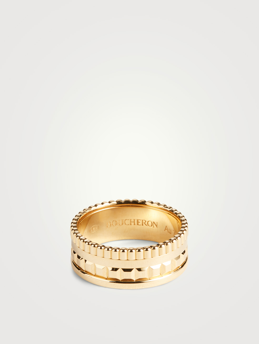 BOUCHERON Small Radiant Edition Quatre Gold Ring Womens Gold