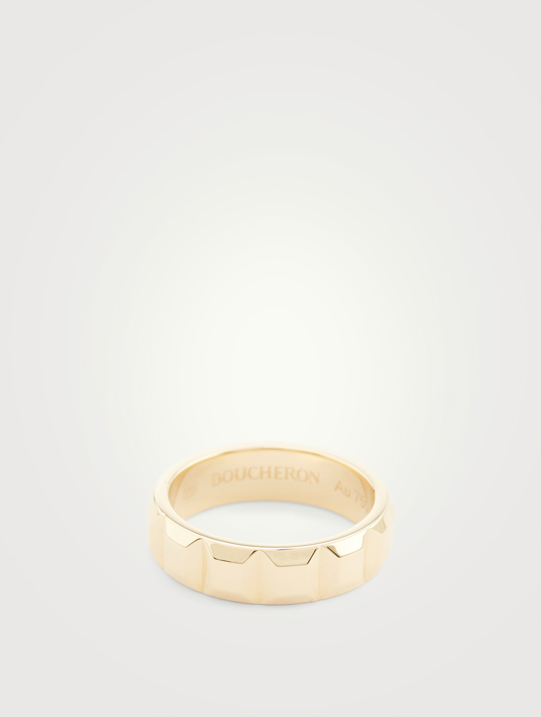 BOUCHERON Quatre Clou De Paris Gold Ring Women's Gold