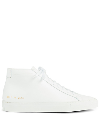 COMMON PROJECTS Original Achilles Leather High-Top Sneakers Women's White