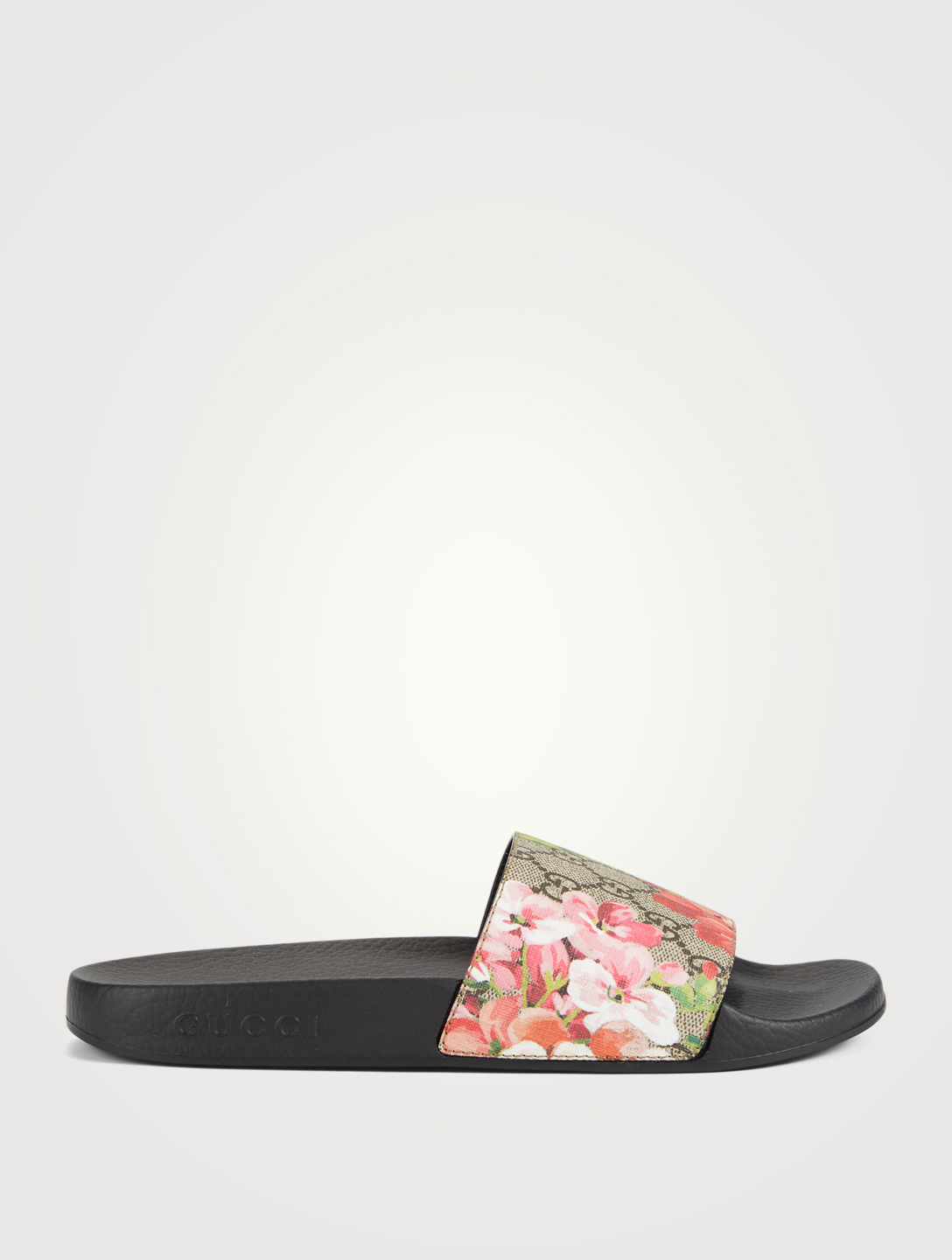 2afaa7796bb0 GUCCI GG Blooms Supreme Slide Sandals