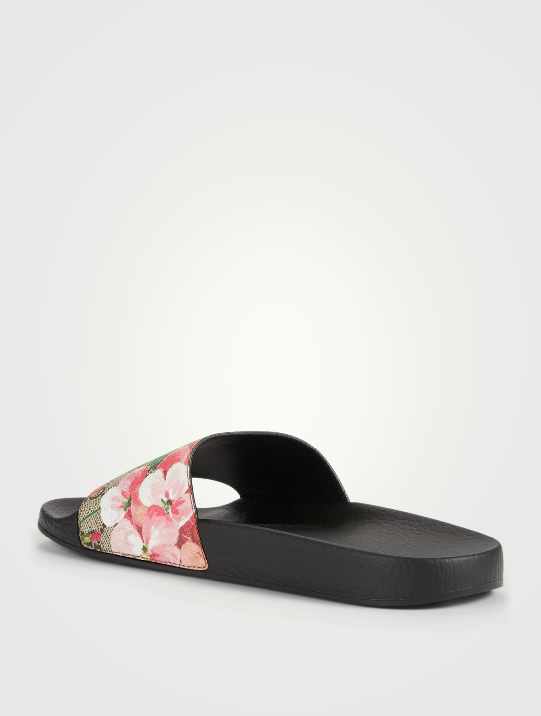 839161a5922 ... GUCCI GG Blooms Supreme Slide Sandals Women s Neutral ...