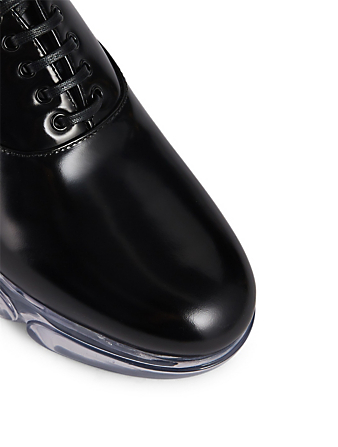 PRADA Cloudbust Leather Oxfords Women's Black