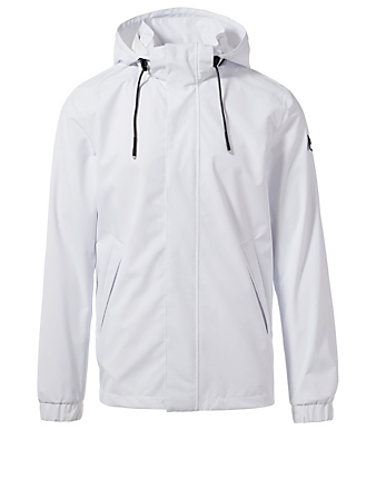 MOOSE KNUCKLES Bruce Peninsula Windbreaker Men's White