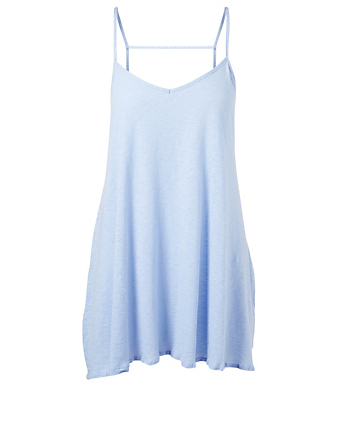 VITAMIN A Paloma Knit Mini Dress H Project Blue