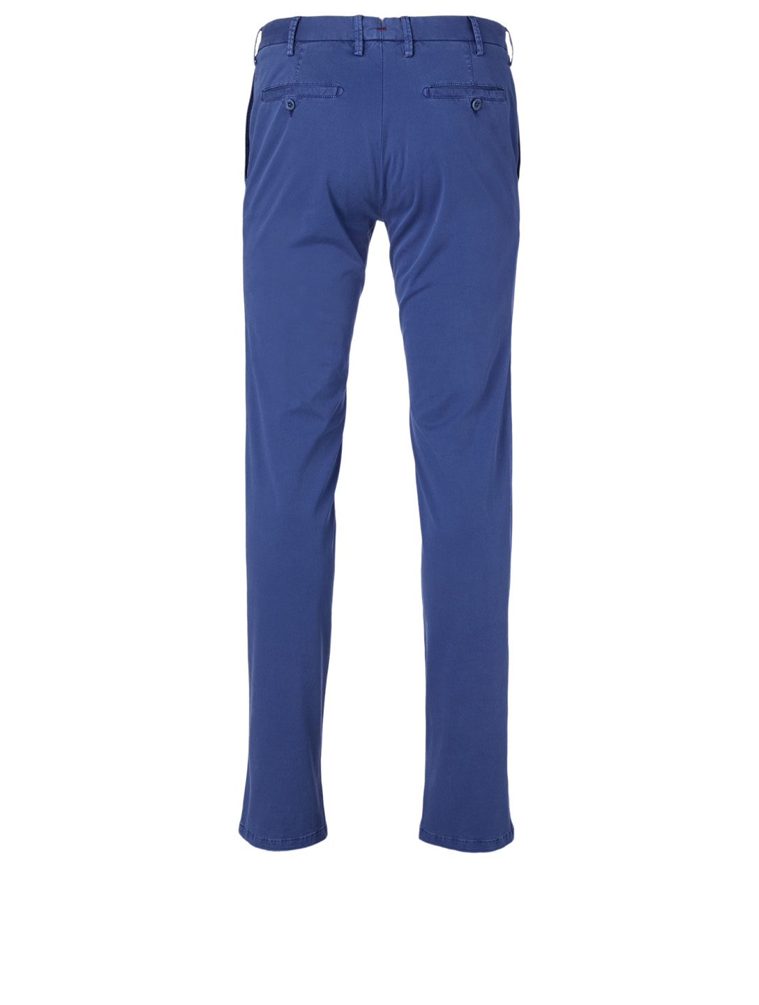 ISAIA Stretch Cotton Pants Men's Blue