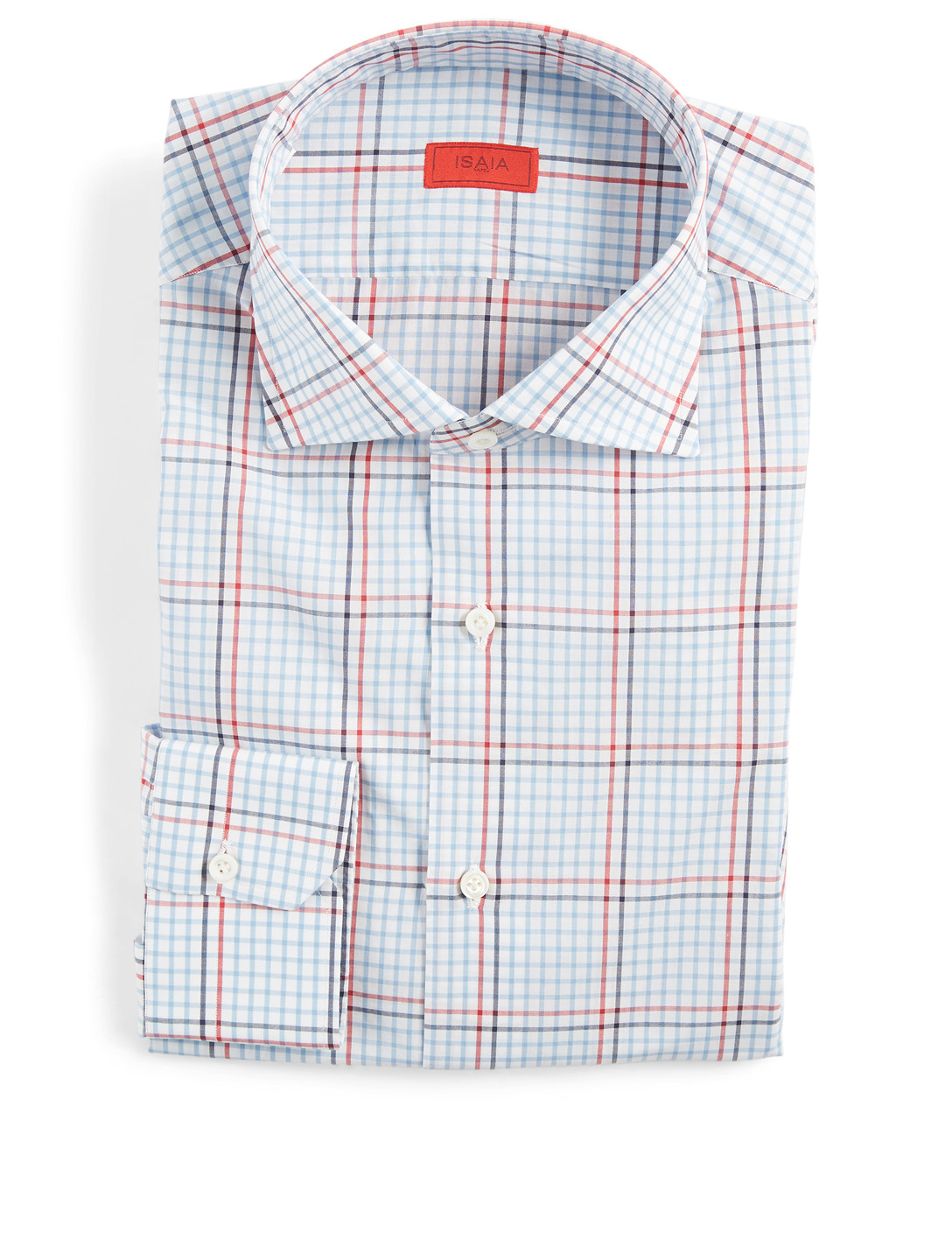 ISAIA Dress Shirt In Check Men's Multi