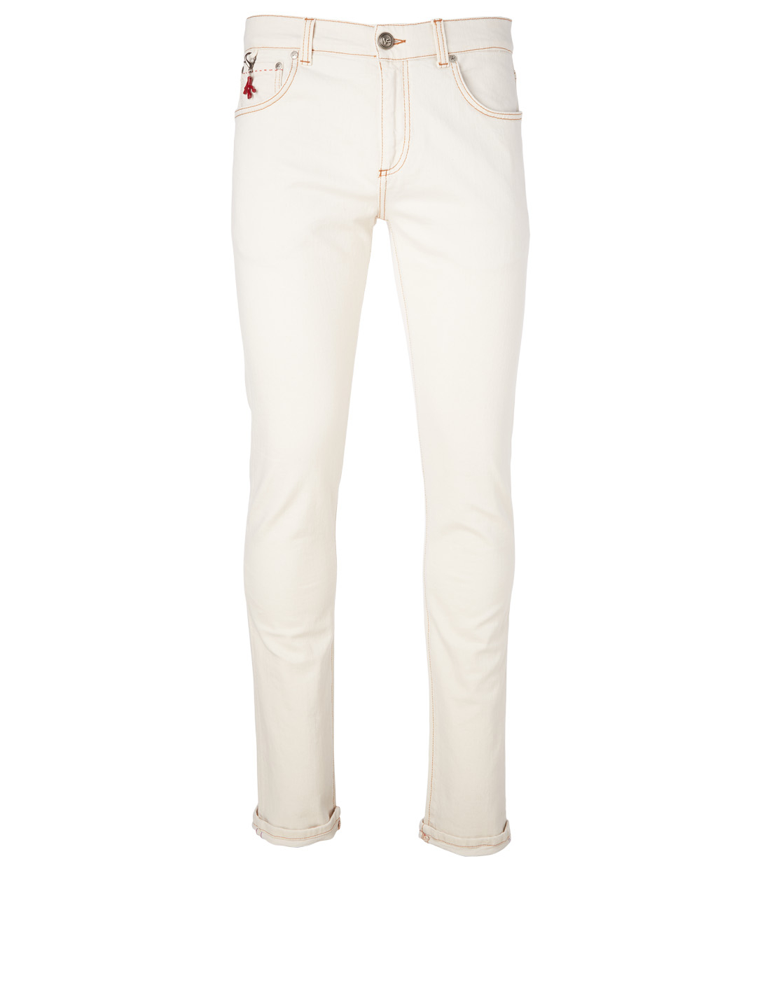 ISAIA Slim-Fit Jeans Men's Neutral