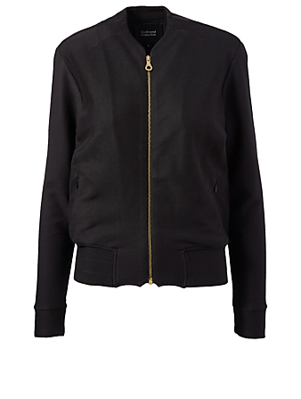 GIRLFRIEND COLLECTIVE Lux Organic Pima Cotton Jacket H Project Black