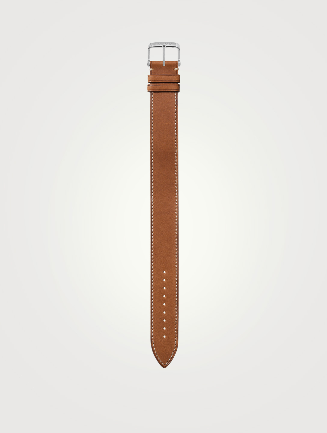 TOM FORD Large Leather Watch Strap Womens Neutral