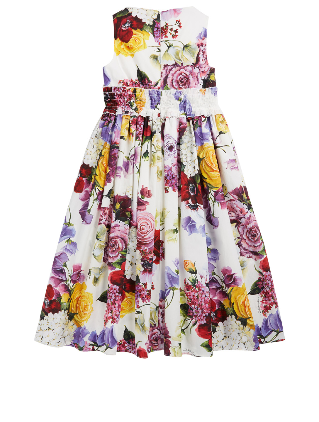 DOLCE & GABBANA Youth Dress In Floral Print Kids Multi