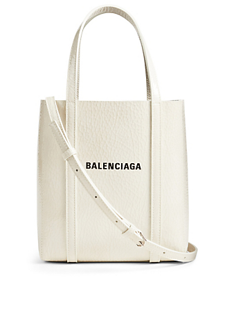 BALENCIAGA XXS Everyday Leather Tote Bag Women's Grey
