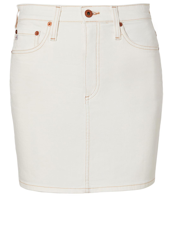 596efa5700e7 AG Vera Denim Skirt Women's White ...