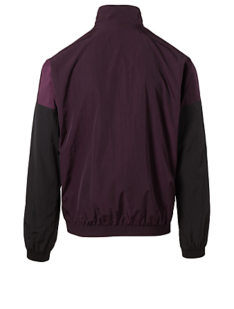 GIVENCHY Windbreaker With Logo Men's Purple