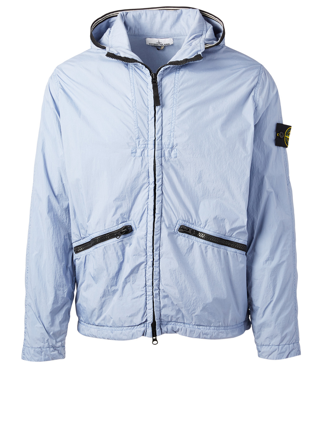 STONE ISLAND Crinkle Nylon Jacket Men's Purple