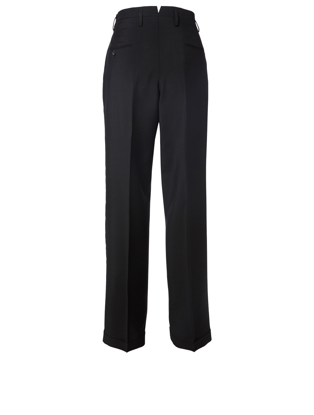 MAISON MARGIELA Mohair And Wool Tailored Pants Women's Black