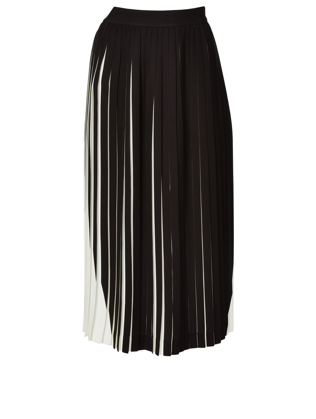 9920200b49 MAISON MARGIELA Two-Tone Pleated Midi Skirt Women's Multi ...