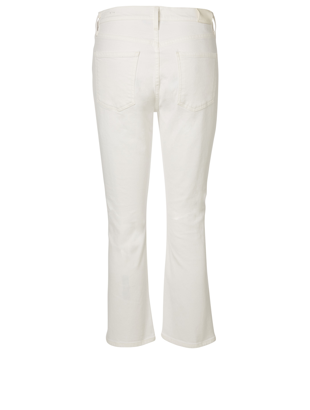 CITIZENS OF HUMANITY Demy Cropped Flare Jeans Women's White